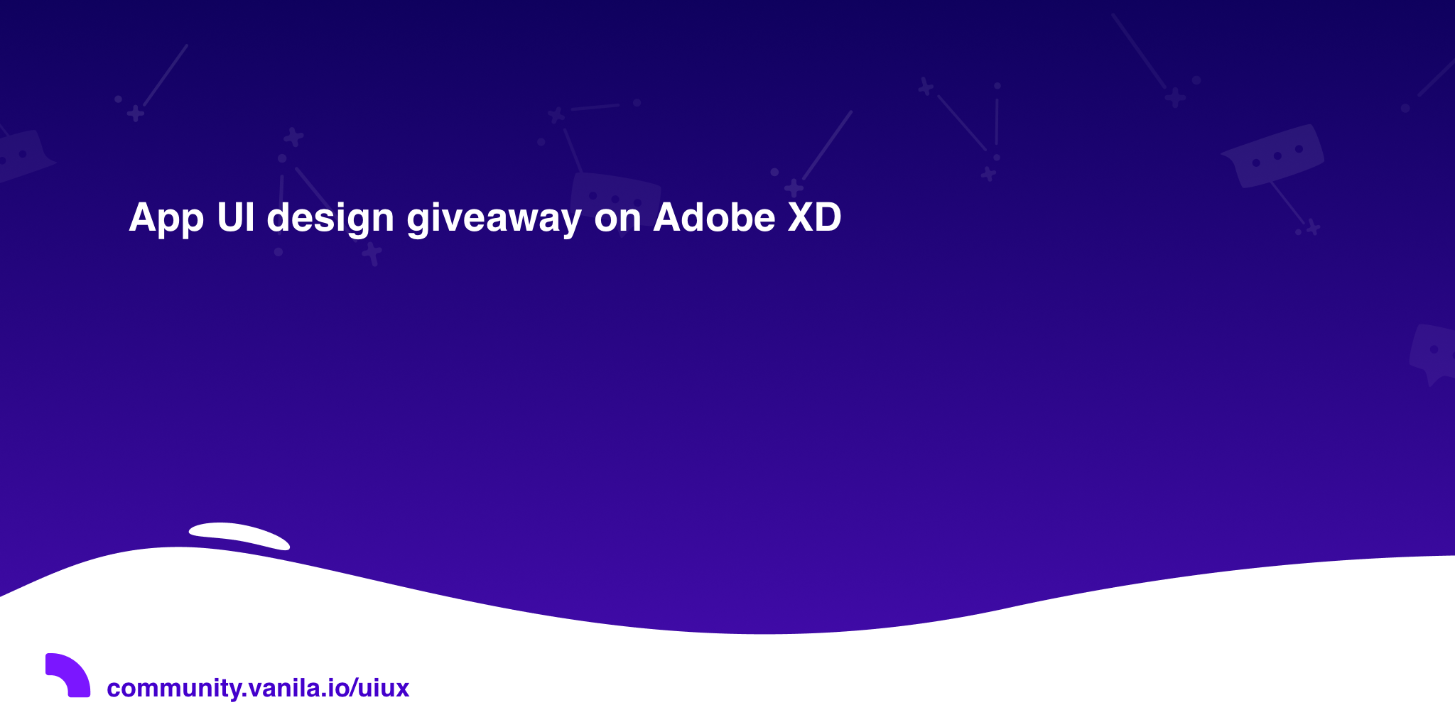 App UI design giveaway on Adobe XD · UI/UX 💩