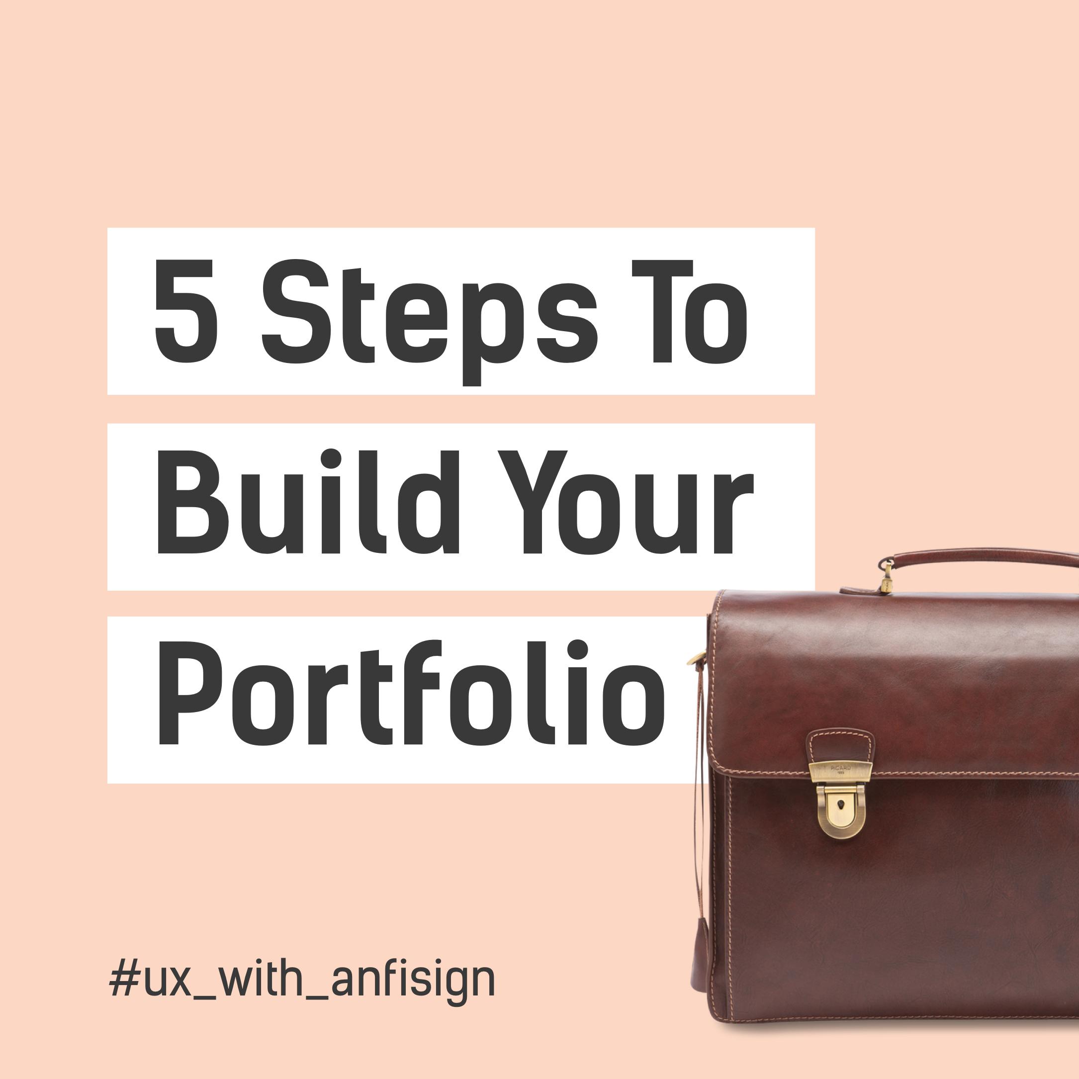 5 tips on how to build portfolio